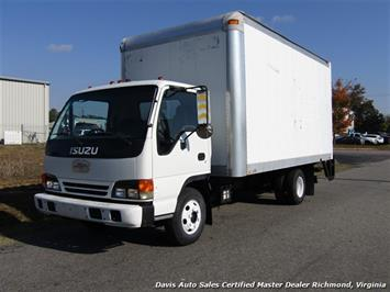 2001 Isuzu NPR Diesel 15 Foot Commercial Work Box Van Truck Truck