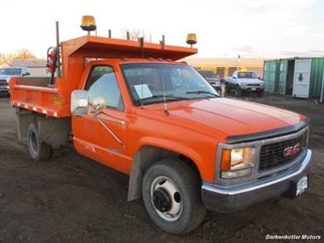 1998 GMC 3500 Regular Cab DUMP Truck 4x4 Truck