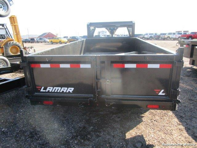 2017 Lamar 14' Gooseneck Dump - Photo 3 - Brighton, CO 80603