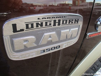 2015 Ram 3500 Laramie Longhorn Crew Cab 4x4 - Photo 36 - Castle Rock, CO 80104