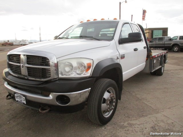 2009 Dodge Ram Chassis 4500 Crew Cab LWB Flatbed 4x4 - Photo 9 - Fountain, CO 80817