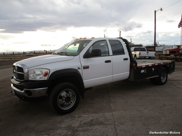 2009 Dodge Ram Chassis 4500 Crew Cab LWB Flatbed 4x4 - Photo 8 - Fountain, CO 80817