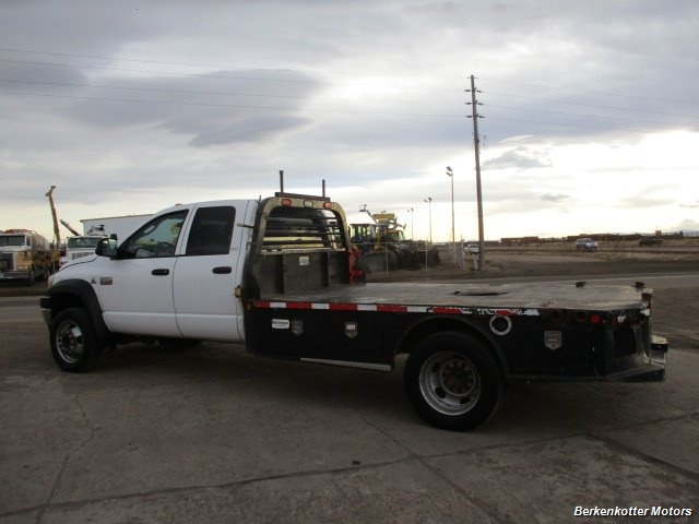 2009 Dodge Ram Chassis 4500 Crew Cab LWB Flatbed 4x4 - Photo 6 - Fountain, CO 80817