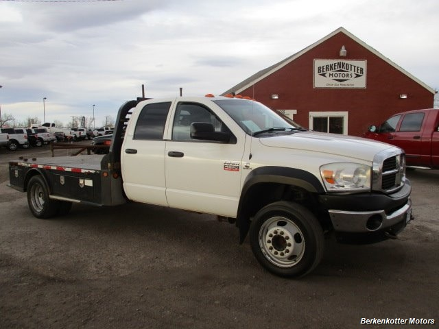 2009 Dodge Ram Chassis 4500 Crew Cab LWB Flatbed 4x4 - Photo 1 - Fountain, CO 80817