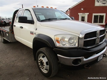 2009 Dodge Ram Chassis 4500 Crew Cab LWB Flatbed 4x4 - Photo 12 - Fountain, CO 80817