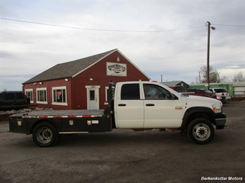 2009 Dodge Ram Chassis 4500 Crew Cab LWB Flatbed 4x4 - Photo 2 - Fountain, CO 80817