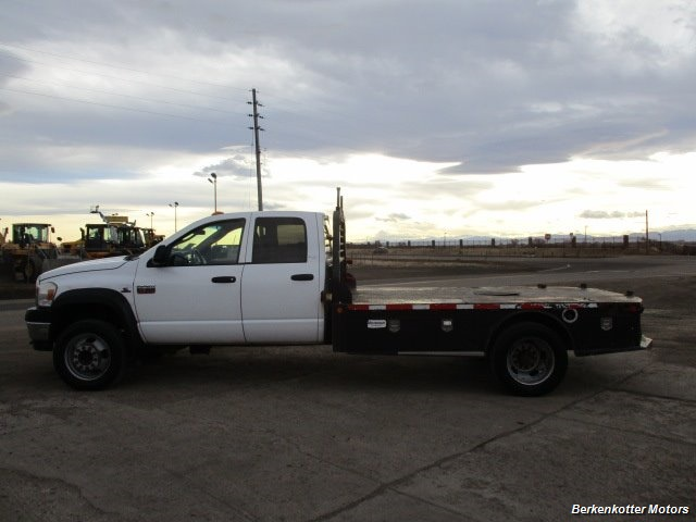 2009 Dodge Ram Chassis 4500 Crew Cab LWB Flatbed 4x4 - Photo 7 - Fountain, CO 80817