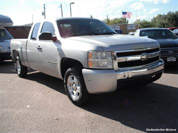 2007 Chevrolet Silverado 1500 Extended Cab 4x4 Truck