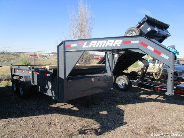 2017 Lamar 14' Gooseneck Dump - Photo 1 - Brighton, CO 80603