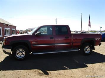 2004 Chevrolet Silverado 2500 LS Crew Cab 4x4 - Photo 10 - Castle Rock, CO 80104