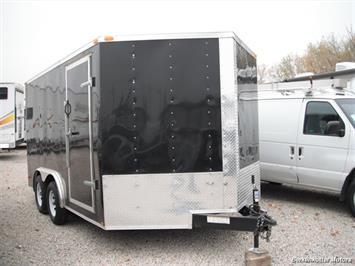 2014 LARK 14' Enclosed Tandem Axle