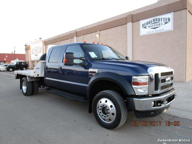 2008 Ford F-450 Crew Cab Flatbed