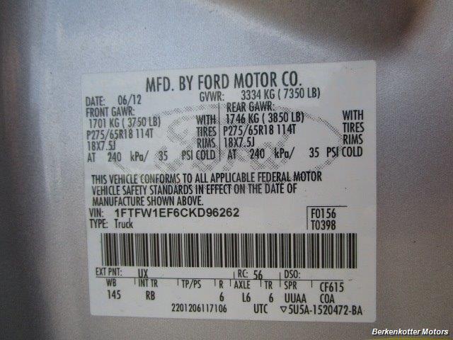 2012 Ford F-150 FX4 Super Crew - Photo 42 - Fountain, CO 80817