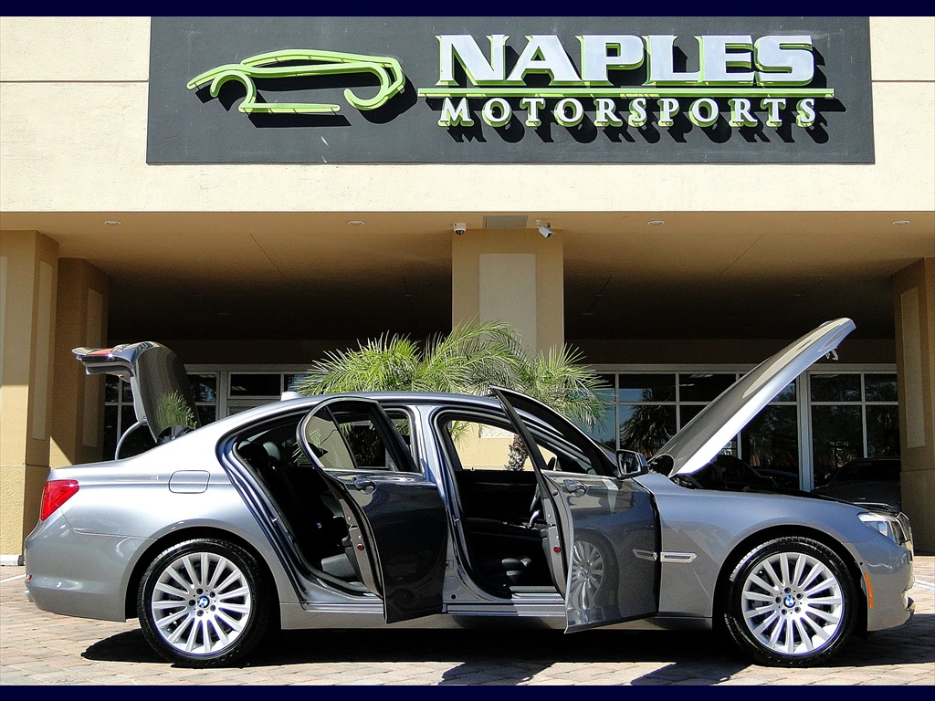 2012 bmw 750i xdrive for Motor vehicle naples fl
