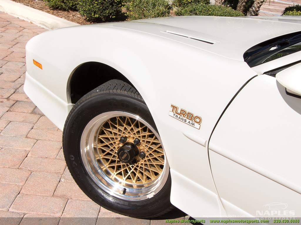 1989 Pontiac Firebird Turbo Trans Am - Photo 47 - Naples, FL 34104
