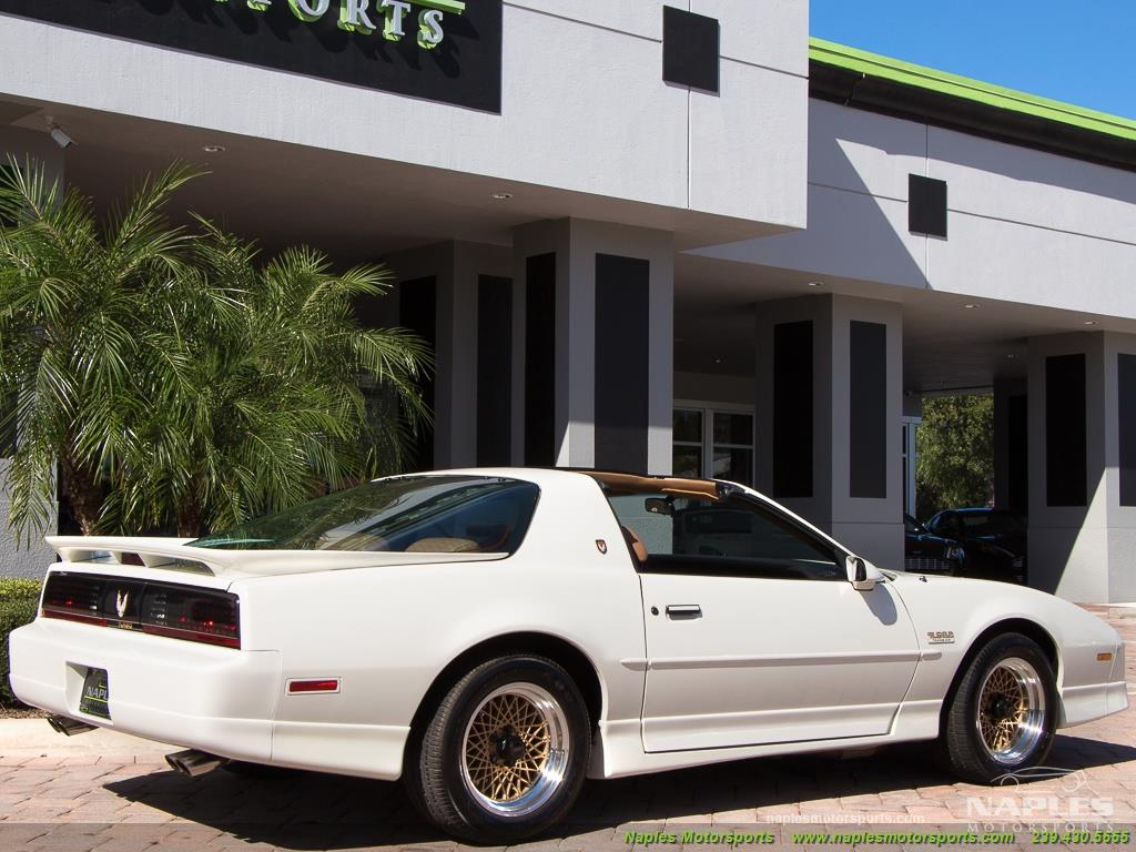 1989 Pontiac Firebird Turbo Trans Am - Photo 29 - Naples, FL 34104