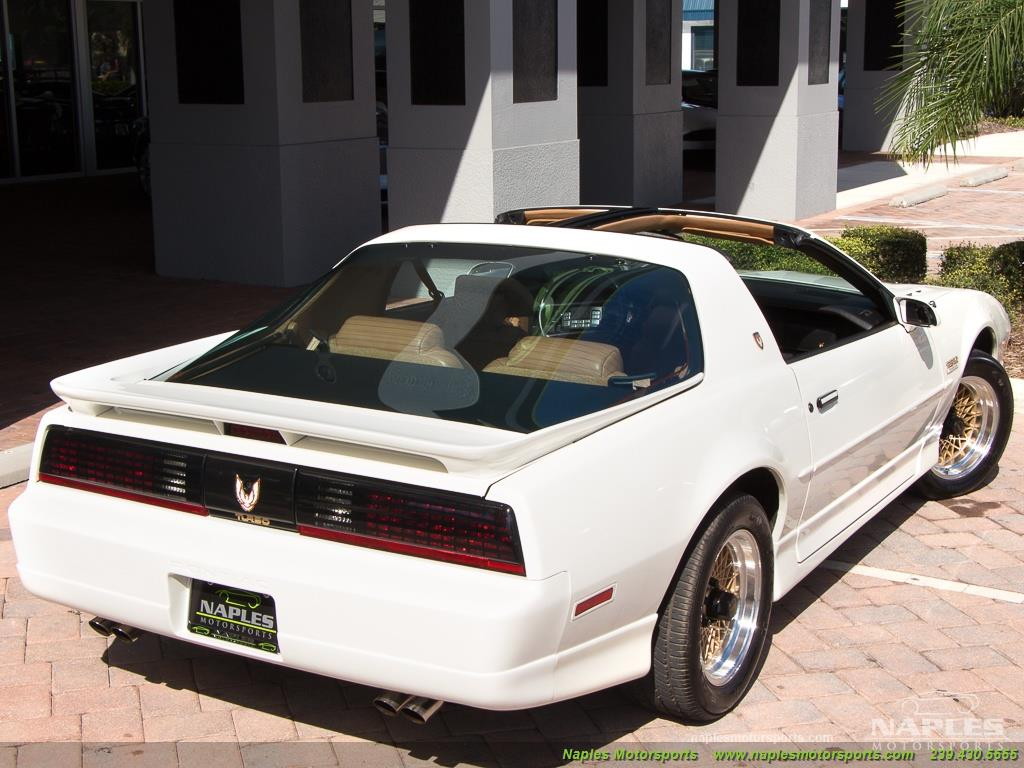 1989 Pontiac Firebird Turbo Trans Am - Photo 20 - Naples, FL 34104