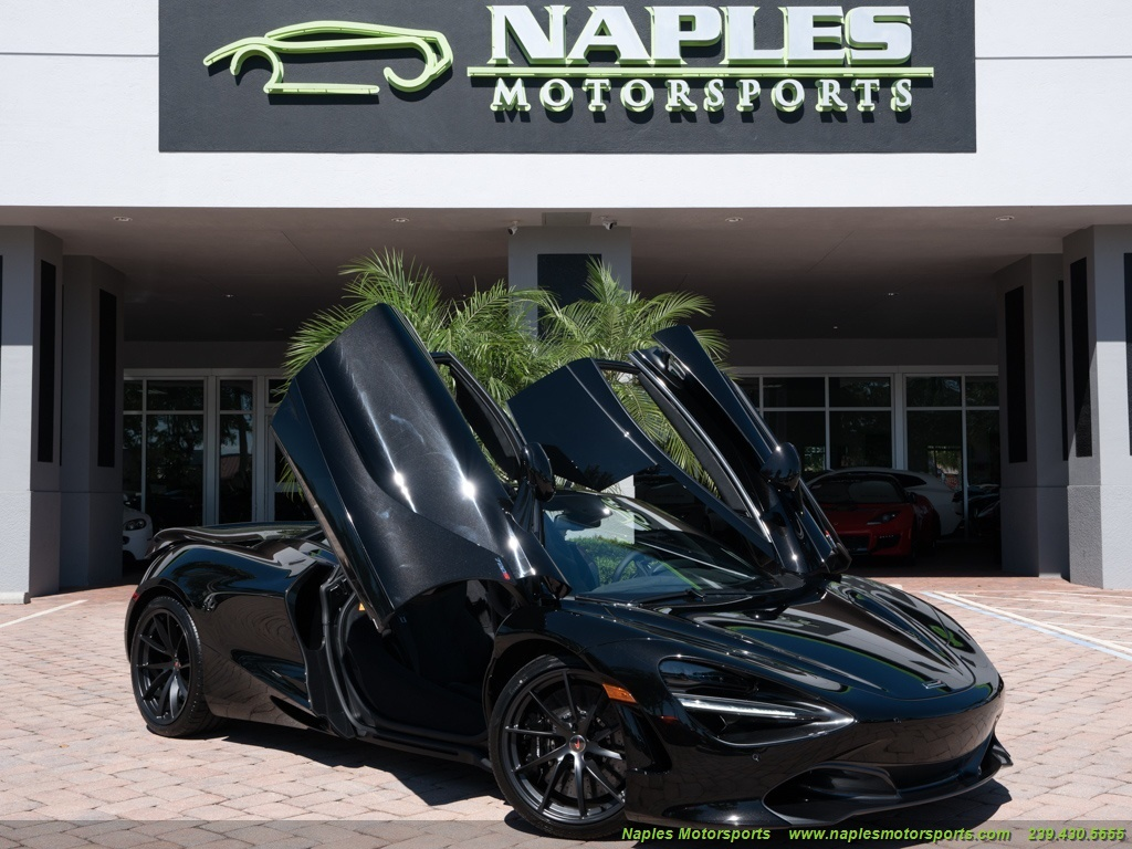 2018 McLaren 720S RWD Used Cars In Naples, FL 34104