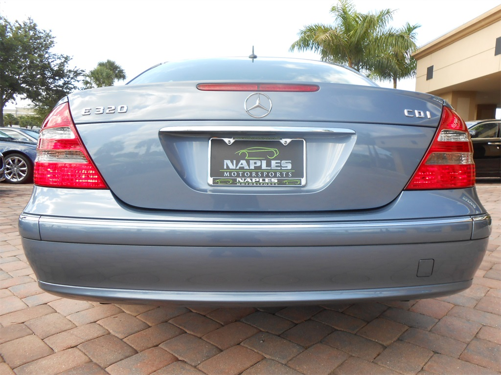 2006 mercedes benz e320 cdi for Motor vehicle naples fl