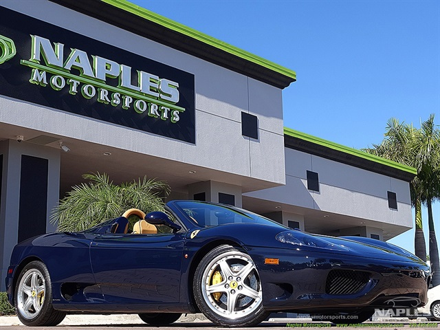 2004 ferrari 360 spider for Motor vehicle naples fl