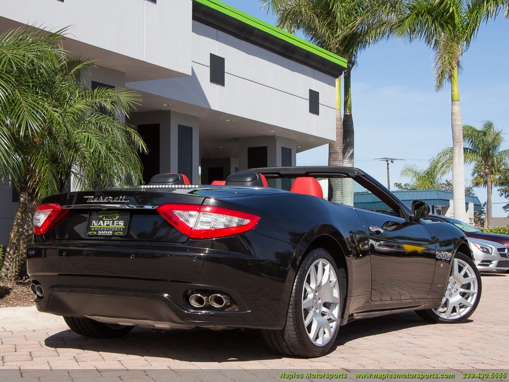 2017 Maserati Gran Turismo Convertible - Photo 10 - Naples, FL 34104