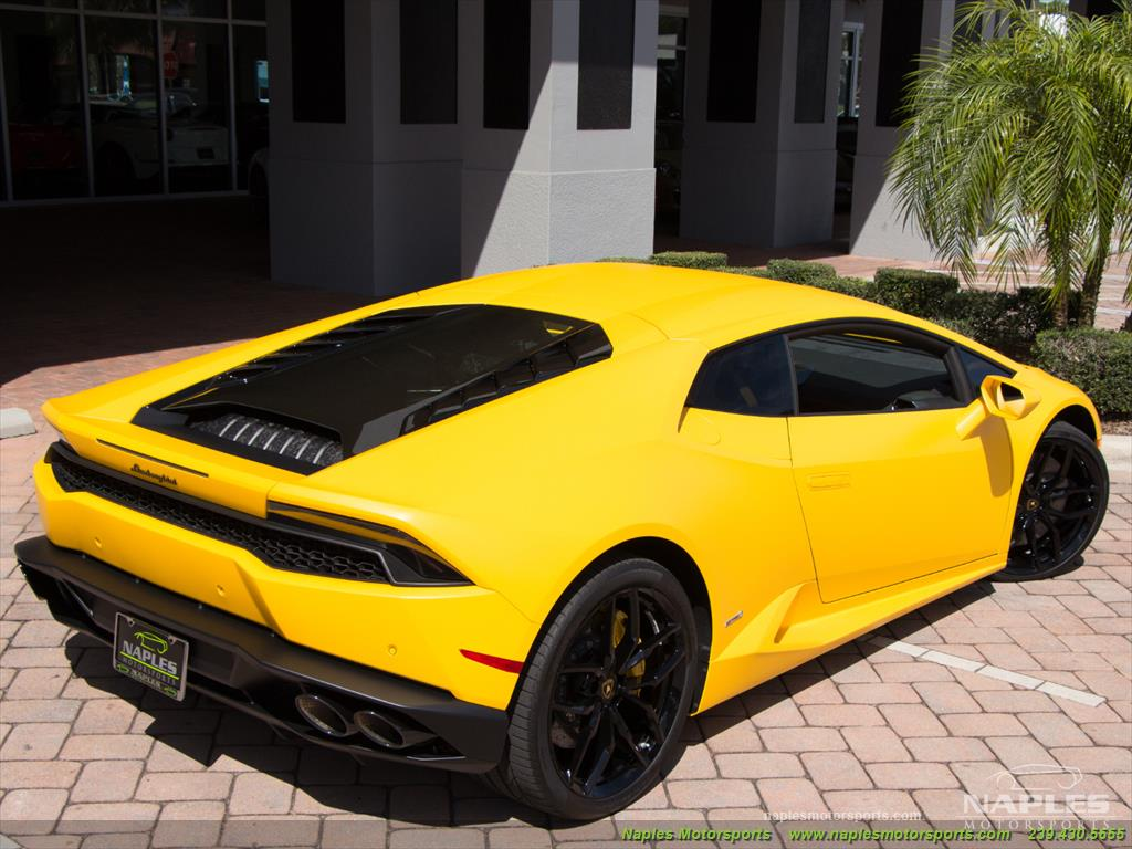 2015 Lamborghini Huracan LP 610-4 - Photo 11 - Naples, FL 34104