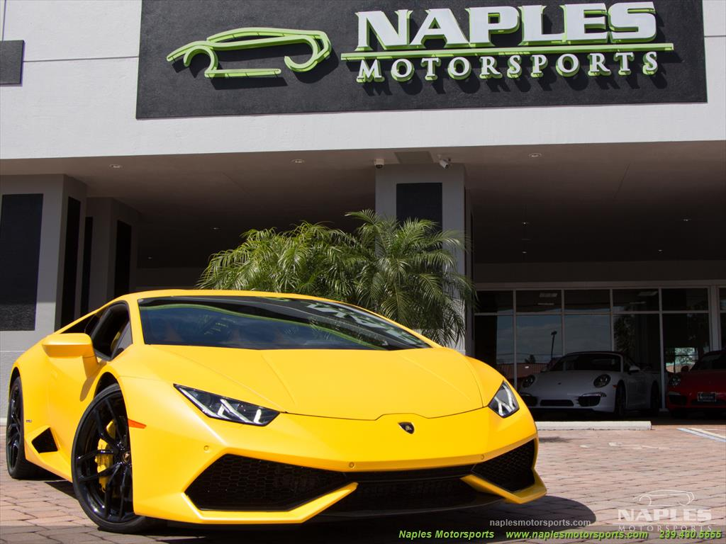 2015 Lamborghini Huracan LP 610-4 - Photo 29 - Naples, FL 34104