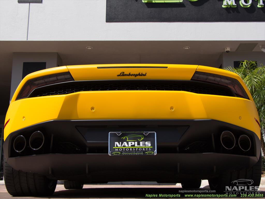 2015 Lamborghini Huracan LP 610-4 - Photo 52 - Naples, FL 34104