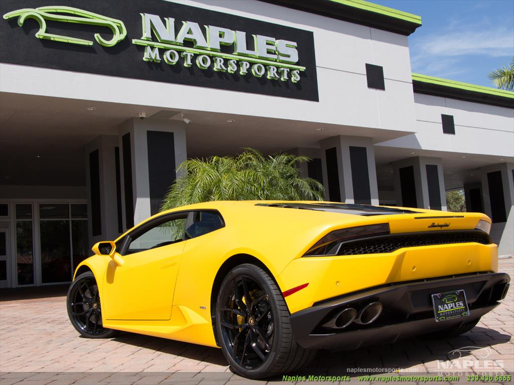 2015 Lamborghini Huracan LP 610-4 - Photo 42 - Naples, FL 34104