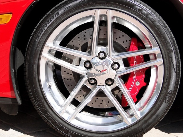 Polished Z06 Wheels