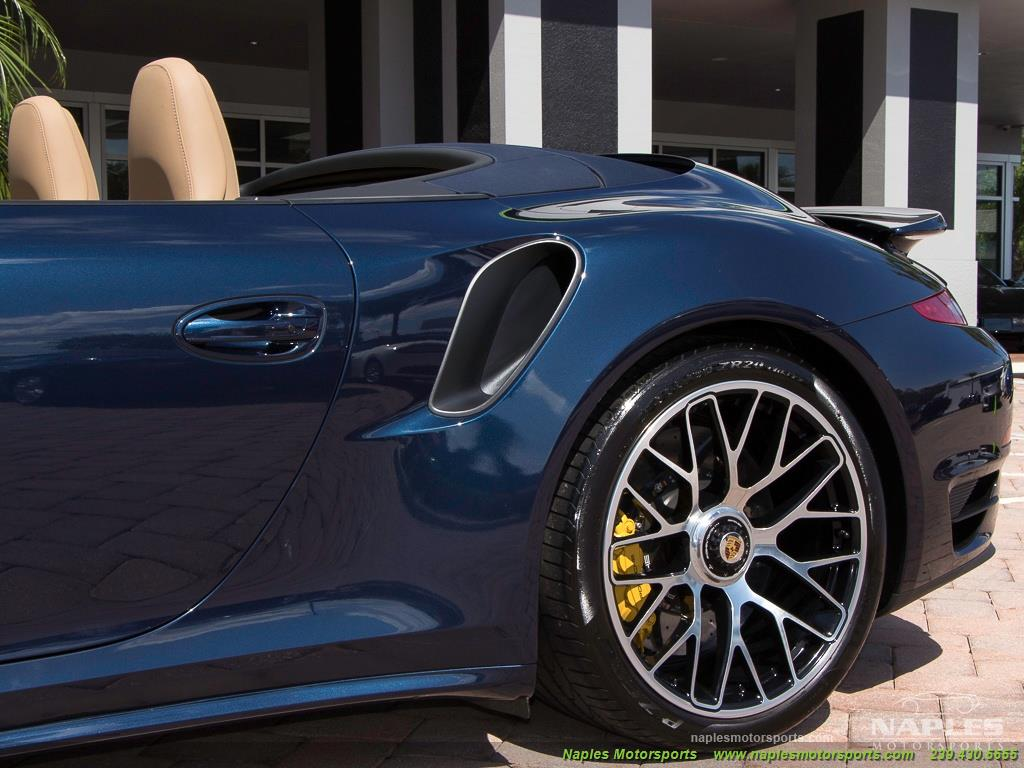 2015 Porsche 911 Turbo S - Photo 27 - Naples, FL 34104