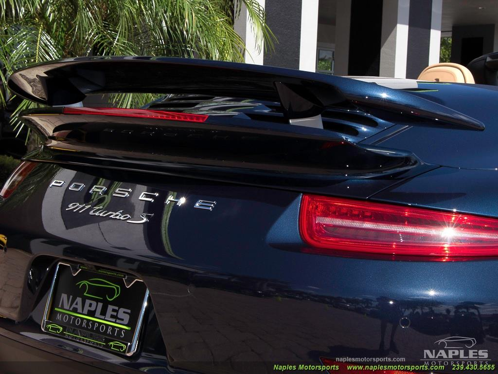 2015 Porsche 911 Turbo S - Photo 39 - Naples, FL 34104