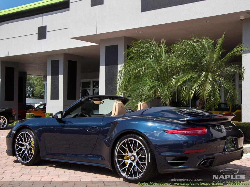 2015 Porsche 911 Turbo S - Photo 21 - Naples, FL 34104