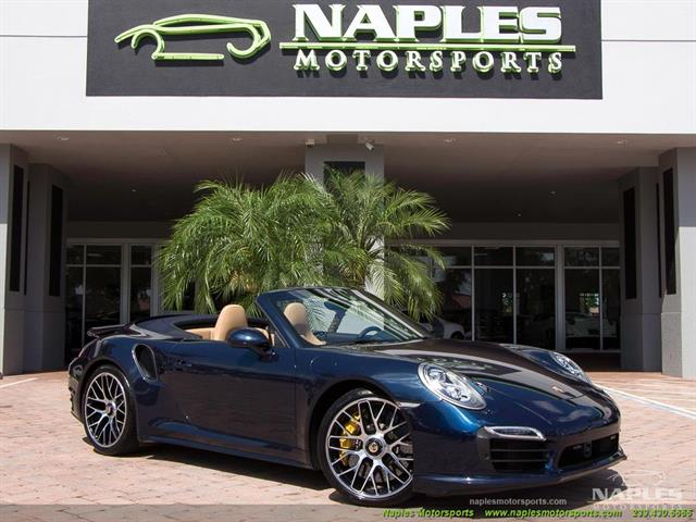 2015 Porsche 911 Turbo S - Photo 1 - Naples, FL 34104