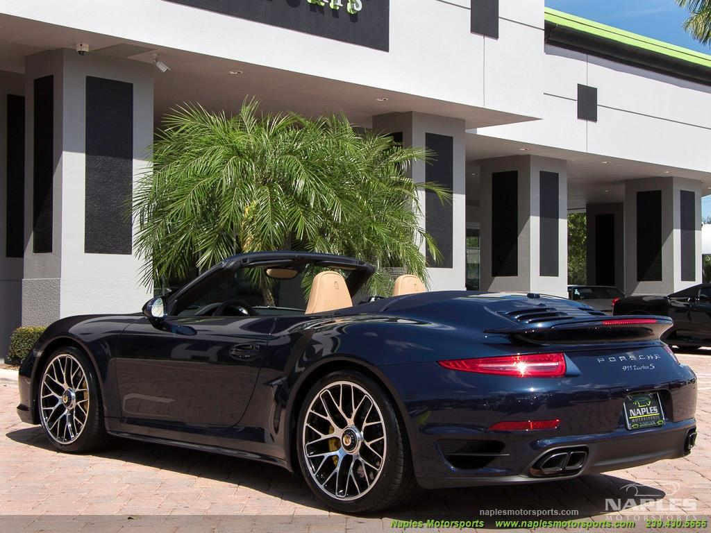 2015 Porsche 911 Turbo S - Photo 46 - Naples, FL 34104