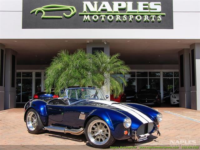 1965 replica kit backdraft racing shelby replica for Motor vehicle naples fl
