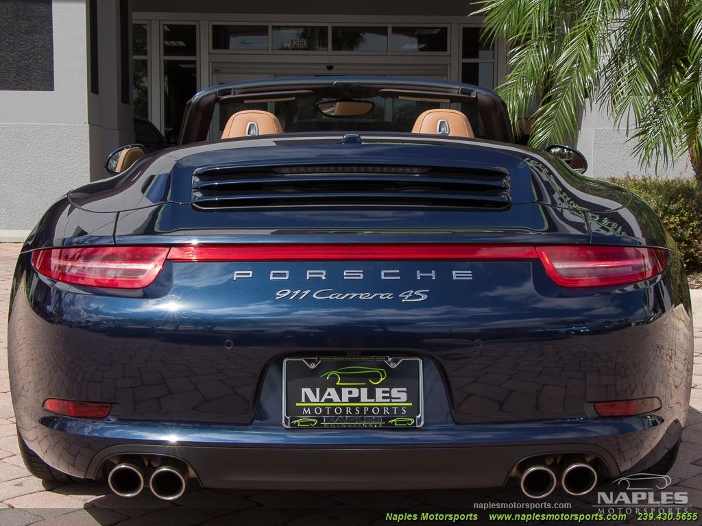 2015 Porsche 911 Carrera 4S - Photo 42 - Naples, FL 34104