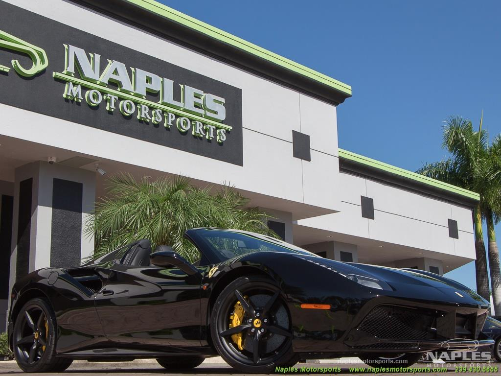 2017 ferrari 488 spider for Motor vehicle naples fl