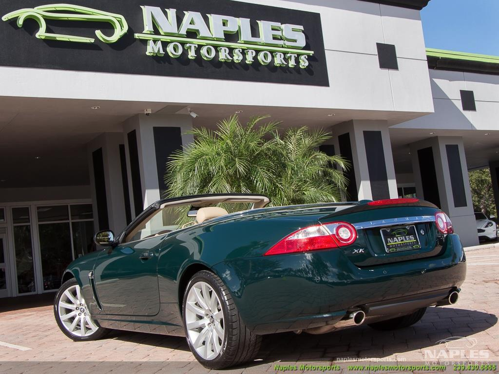 2007 Jaguar XK XK Convertible   Photo 53   Naples, FL 34104