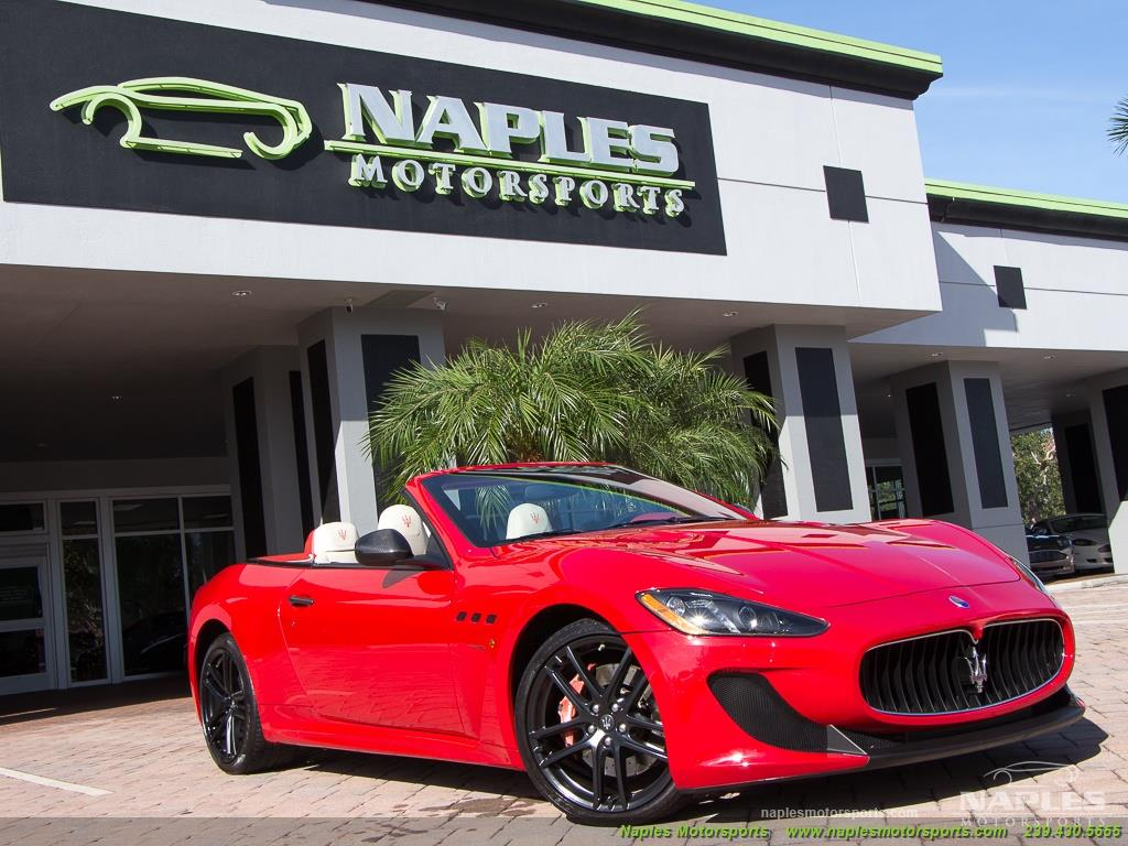 2014 Maserati Gran Turismo MC Stradale Convertible - Photo 35 - Naples, FL 34104