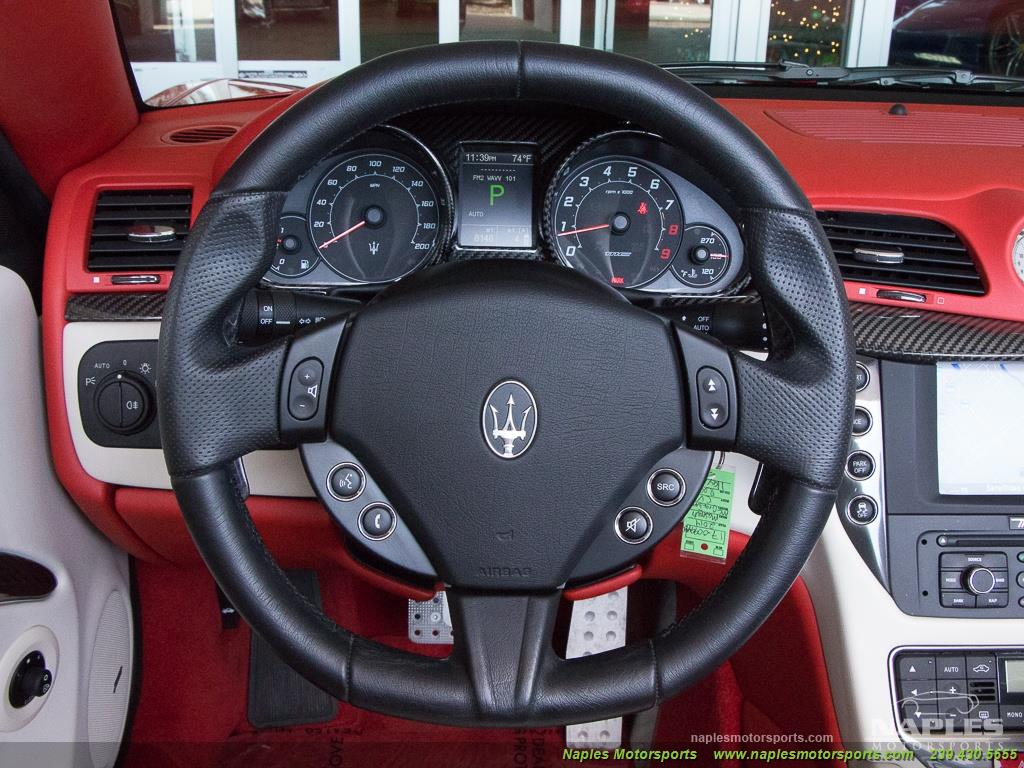 2014 Maserati Gran Turismo MC Stradale Convertible - Photo 8 - Naples, FL 34104