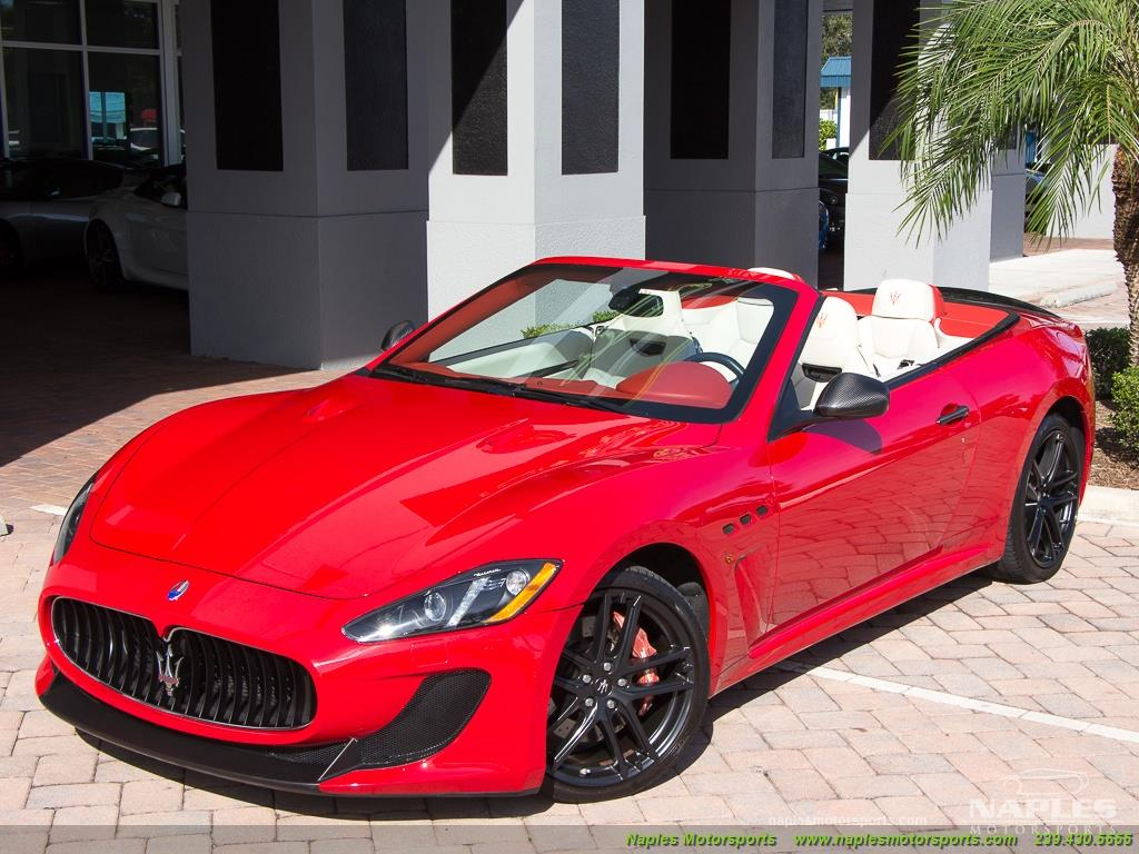 2014 Maserati Gran Turismo MC Stradale Convertible - Photo 41 - Naples, FL 34104