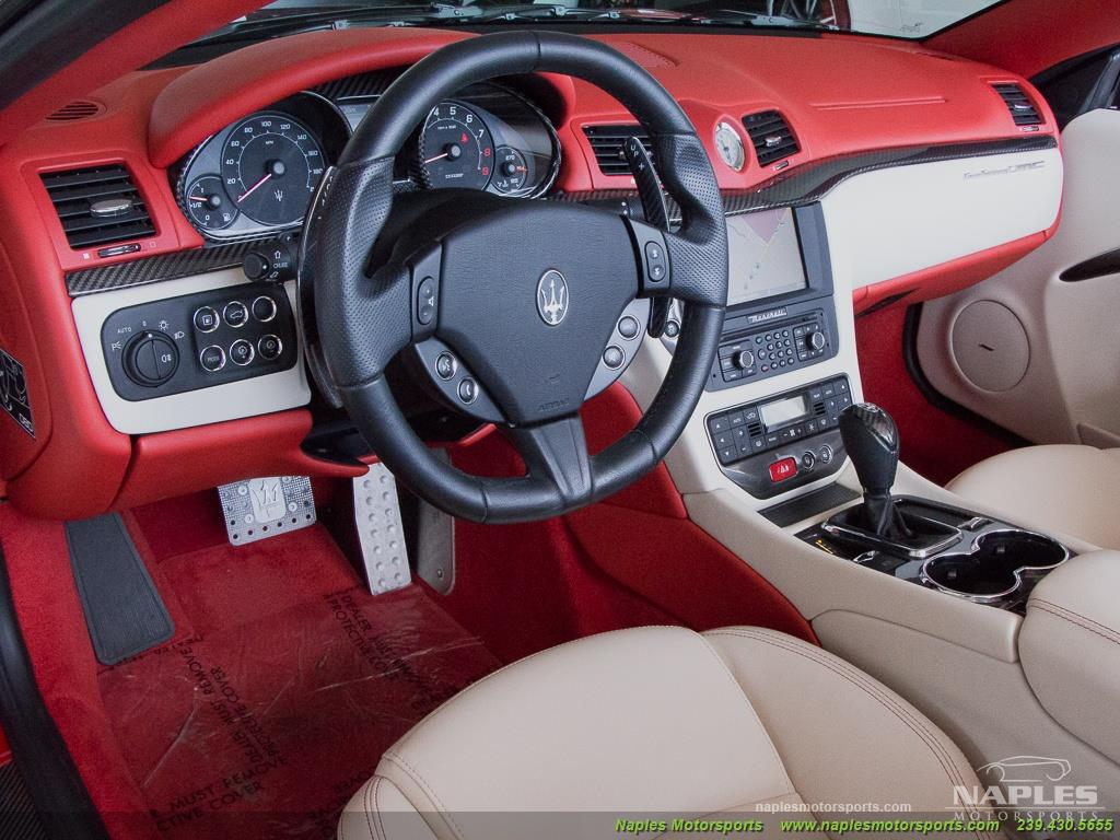 2014 Maserati Gran Turismo MC Stradale Convertible - Photo 18 - Naples, FL 34104