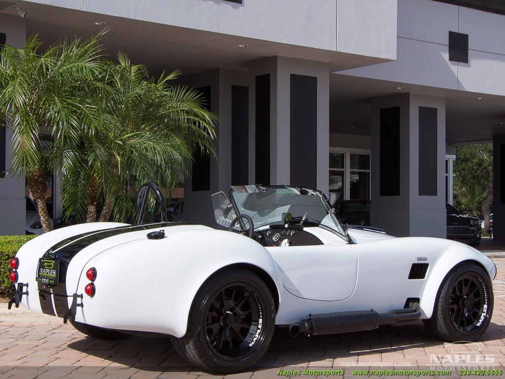 1965 Replica/Kit BackDraft Racing 427 Shelby Cobra Replica - Photo 24 - Naples, FL 34104
