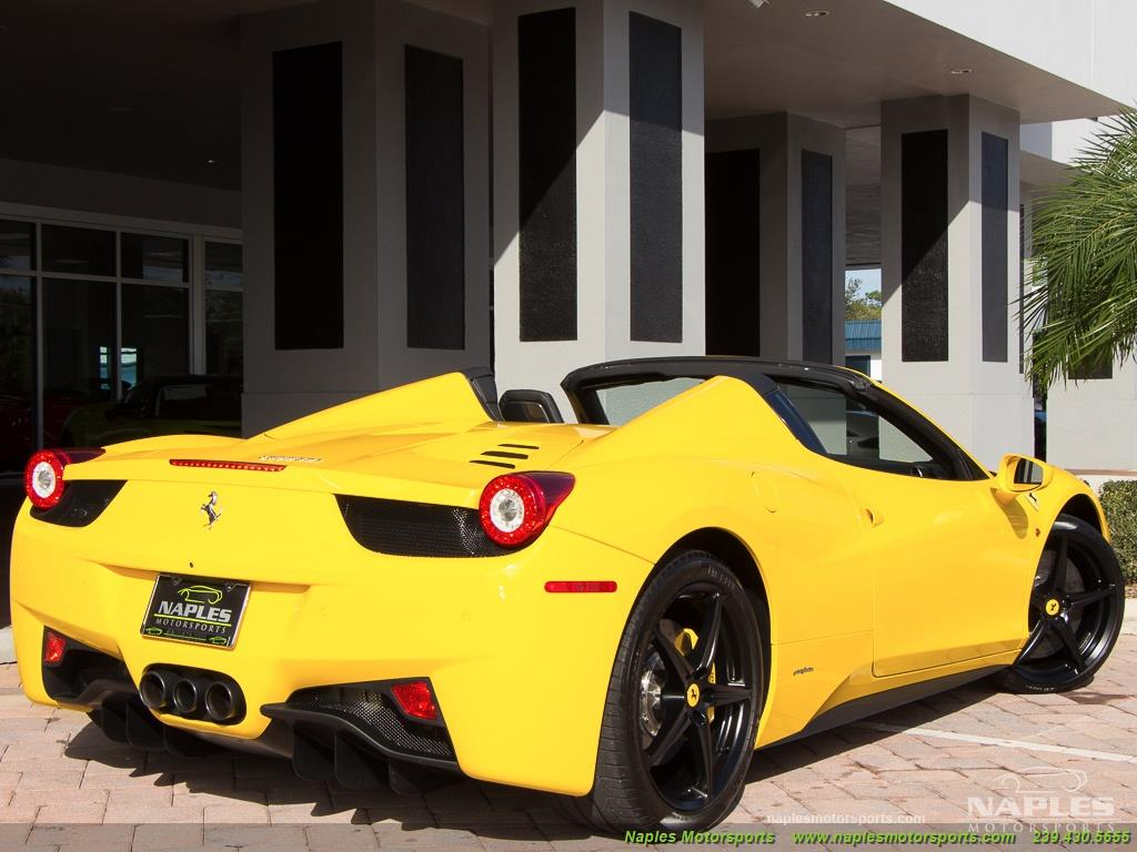 2013 Ferrari 458 Spider   Photo 58   Naples, FL 34104