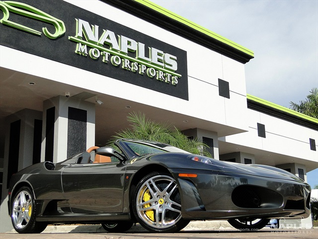 2008 ferrari 430 spider for Motor vehicle naples fl