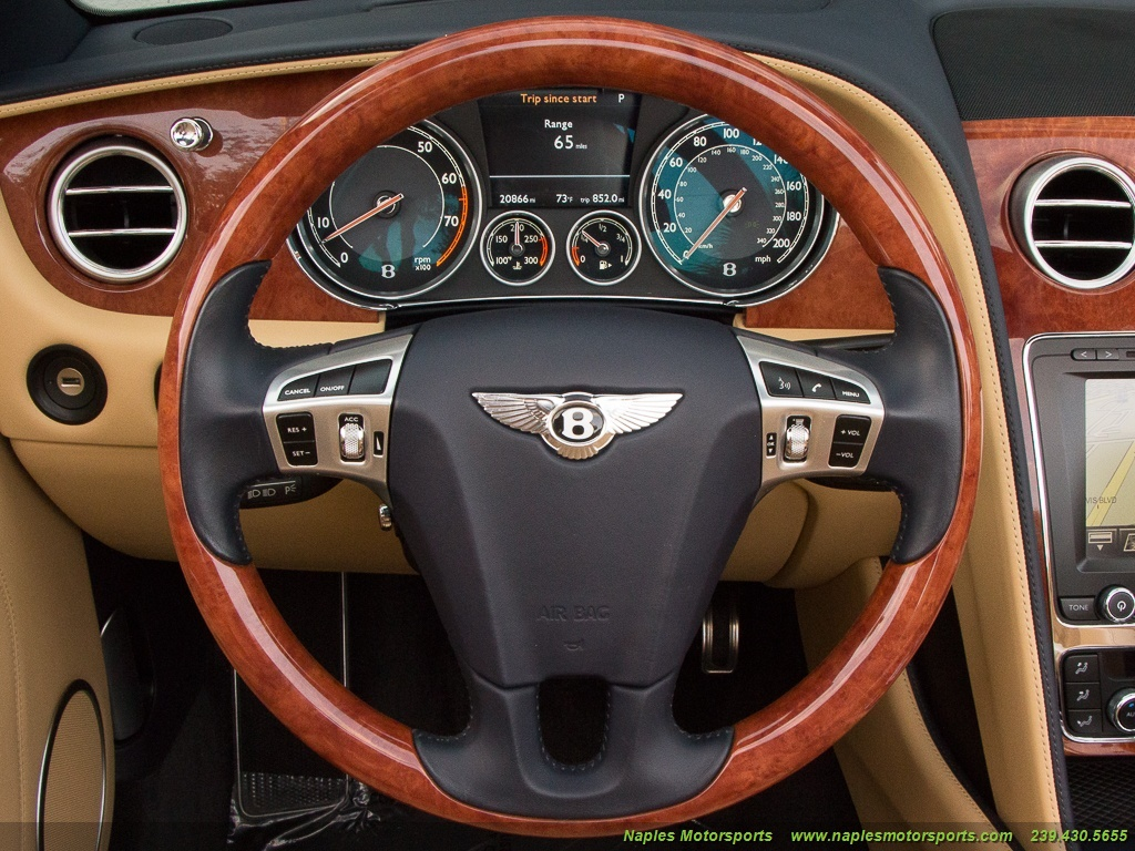 2014 Bentley Continental GT GTC Convertible - Photo 34 - Naples, FL 34104