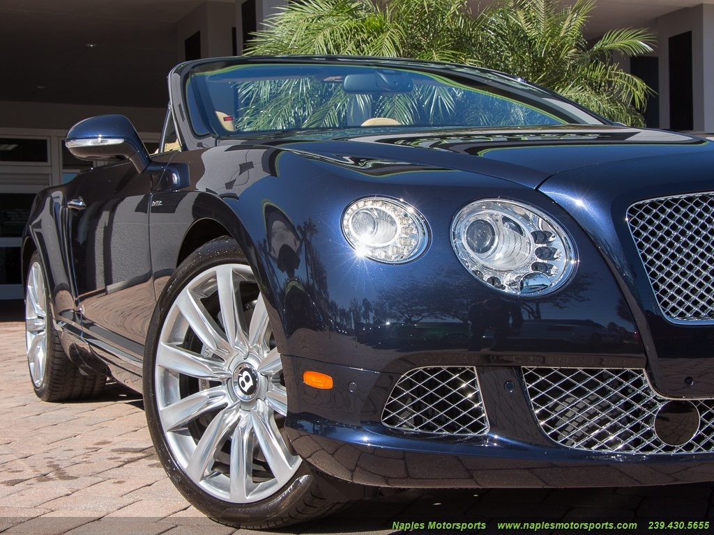 2014 Bentley Continental GT GTC Convertible - Photo 38 - Naples, FL 34104