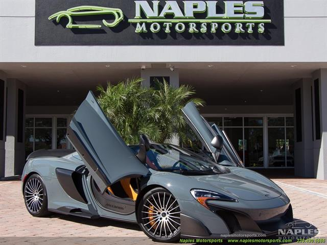 2016 mclaren 675lt spider for Motor vehicle naples fl