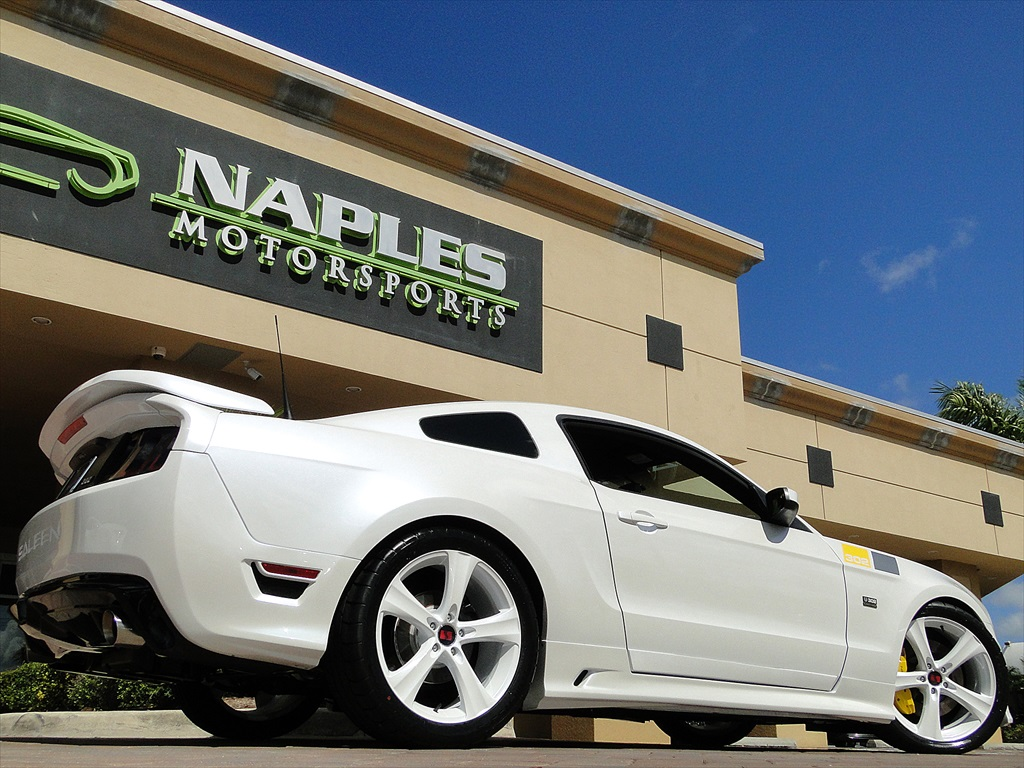 2014 ford mustang saleen 302 sa30 anniversary black label for Motor vehicle naples fl